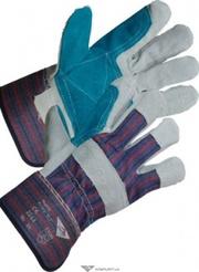 Перчатки комбинир. (спилок+х/б) ХВАТКА