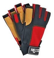 Перчатки комбинир. (синтетическая кожа+трикотаж),  RMC-LIBRA,  без оконч