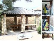 Шлифовка стен деревянного дома,  сруба  Герметизация-отделочние работ