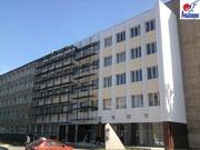 Вентилируемый стальной фасад