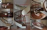 Лестницы из дуба. Лестницы для дома.