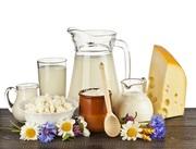 Продам коровье молоко и молочные продукты оптом