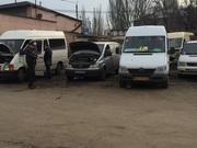 Mercedes ,  Фольксваген ,  ремонт микроавтобусов Одесса