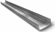 Швеллер алюминиевый 19, 6х20х1, 8мм сплав АД31Т5 анодированный