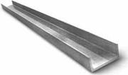 Швеллер алюминиевый 30, 8х12, 9х1, 4мм сплав АД31Т5 анодированный