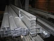 Труба алюминиевая профильная прямоугольная 40х20х2, 0мм без покрытия