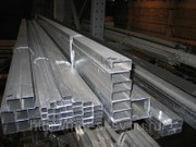 Труба алюминиевая профильная прямоугольная 100х20х2, 0 без покрытия