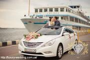 Прокат авто на свадьбу в Одессе от «Luxury Wedding»