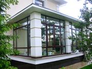 Дизайн проект зимнего сада Schüco.