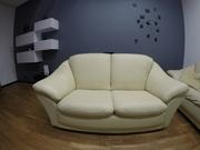 Продам кожаный,  финский диван