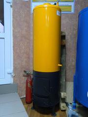 Дровяной Бойлер-буржуйка Титан (железо) на 80 литров