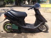 Электроcкутер  на базе стандартного бензинового скутера Honda Dio 27