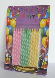 Декоративные свечи от производителя. Тортовые свечки для праздника.