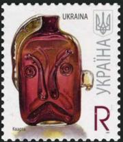 Действующие литерные марки Украины E и R