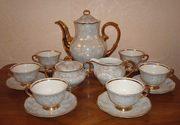 Сервиз чайно-кофейный фарфоровый