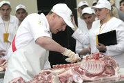 Обвальщик мяса на мясокомбинат (Польша)