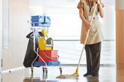 Работник по уборке автобусов в Польше