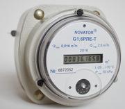 Компактный газовый счетчик с  электронным счетным устройством ЕГЛ – G