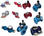 Счетчики холодной  и горячей воды Апатор Apator многоструйные тип WS(