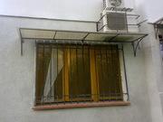 Решетки на окна,  балконы,  козырьки