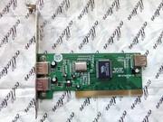 Контроллер USB 2.0 VIA VT6202 PCI,  входы 2-наруж. 1-внутр.