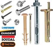 Продам метизы,  крепежное оборудование,  инструмент