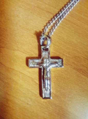 Продам крестик на цепочке