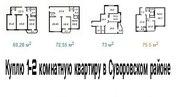 Куплю 1-2 комнатную квартиру в Суворовском районе