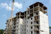 Стройка жилого комплекса в Одессе.