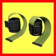 Лямки атлетические для тяг со штангой,  гантелями и тренировке на турни