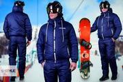 Мужской лыжный костюм на синтепоне.