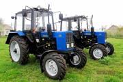 Колесный трактор БЕЛАРУС МТЗ 82.1 тягового класса,  дизель 81 л.с.