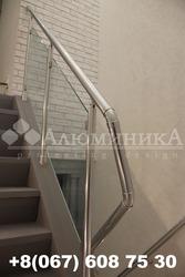 Лестничные перила и ограждения из анодированного алюминия