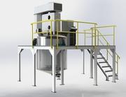 Миксер для приготовления водно-дисперсионных красок и грунтов 2500л
