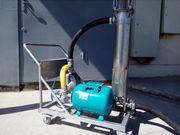 Фильтровальная станция с насосом с пневматическим приводом