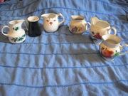 коллекция сливочников-молочников (за 30 лет)