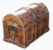 Сундук деревянный под старину