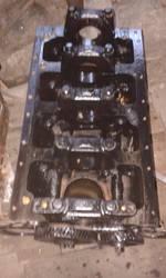 Блок цилиндров двигателя Д-242,  б/у