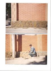 каменщик-облицовочная кладка,  облицовка-песчаником