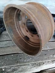 Диск колёсный ЗИЛ-131,  с кольцом,  б/у