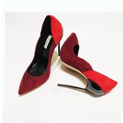 Туфли Casadei замшевые 39 размер