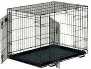 Клетка для собак,  усиленная,  две двери