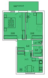 Квартира в новом дом элит-класса от строителей