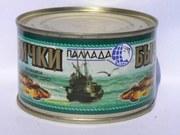 Предложение рыбоконсервной продукции от производителя ЧП Серви-Пак