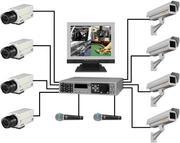 Видеонаблюдение,  системы охраны и доступа,  мини АТС